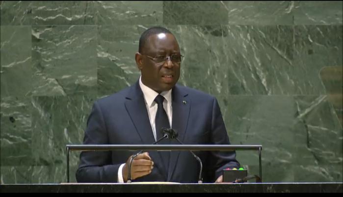 AG des Nations Unies / Le « New Deal » de Macky Sall : « Il devrait aider à vaincre les déterminismes qui entravent l'accès du continent à ses ressources à travers des paradigmes de collaboration rénovés… »