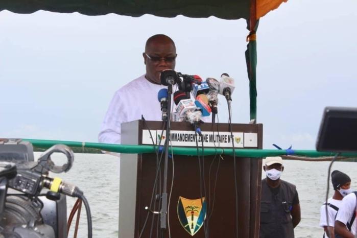 An 19 naufrage du Joola : Abdoulaye Baldé prévient et rappelle l'urgence de reconstruire le pont Emile Badiane qui a tué trois victimes en deux ans