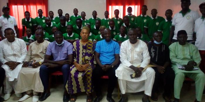 KOLDA : une trentaine de stagiaires à l'école de la licence D de la CAF.