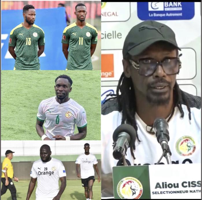 Équipe nationale : Joseph Lopy, Moutarou Baldé, Sima et Sada Thioub zappés par le coach...