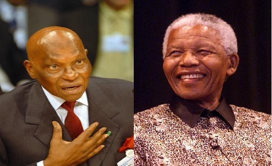 Nelson Mandela, Abdoulaye Wade : Yalla ak Yaali