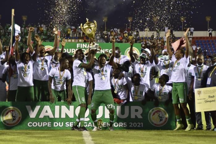 Coupe du Sénégal : Le Casa Sport sacré remporte le trophée devant Diambars.