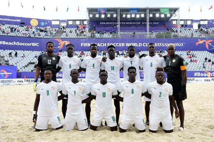 International Beach Soccer Cup « Dubaï 2021 » : les lions entament une série de stage avec 20 joueurs.