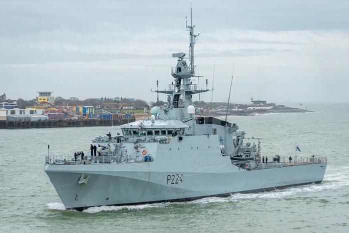Exercice Grand African Nemo : La Royal Navy envoie son patrouilleur HMS Trent pour une mission de soutien aux alliés en Afrique de l'Ouest.