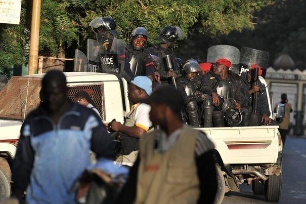 Marche des libéraux du PDS :Une procession sous haute surveillance policière