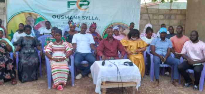 KÉDOUGOU / LOCALES 2022 : Les jeunes du MCFP montent au créneau et défendent la candidature de leur leader.