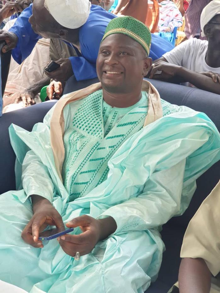 Diarga Sané, le maire