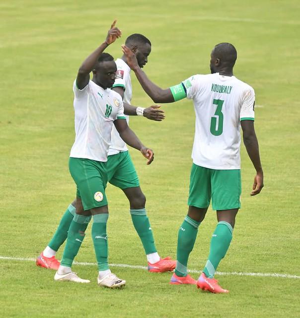 SÉNÉGAL - NAMIBIE : Sadio Mané enfonce les Warriors. (3-0)