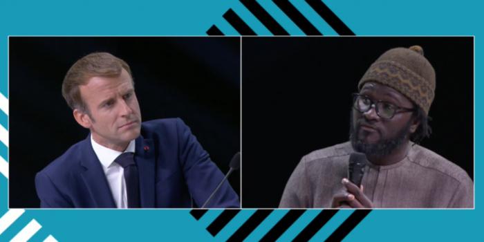 (Entretien) Cheikh Fall, blogueur : « Pourquoi j'ai participé au sommet Afrique-France (…) Mon échange avec le président Macron »