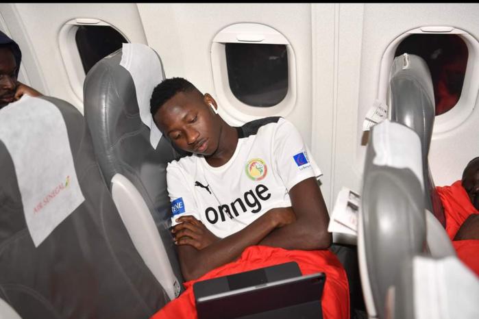 Namibie vs Sénégal : Les Lions sont arrivés à Johannesburg dans la nuit du dimanche au lundi... (Photos)