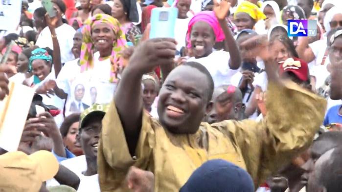 (IMAGES) El Hadj Dia en meeting à Bambey… Mobilisation et temps forts