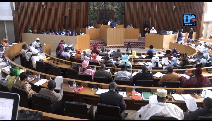 Session Ordinaire : Les députés de l'Assemblée nationale en séance plénière, ce jeudi.
