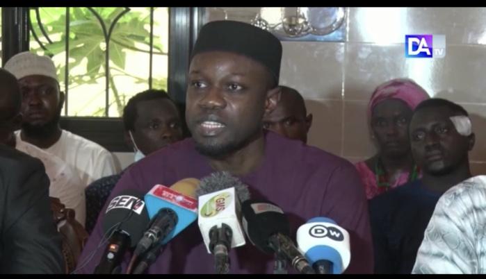 Ousmane Sonko prévient Doudou Kâ : « Ce qui s'est passé hier nous ne l'accepterons plus ou alors les conséquences seront désastreuses de son côté! »