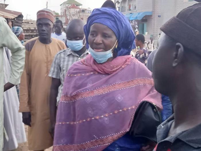 Incendie au marché Khar Yalla de Médina Baye / Mariama Sarr : «Il y a eu beaucoup de pertes financières...»