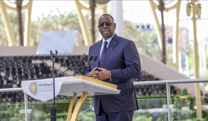 Expo Dubaï 2020 - Macky Sall : « Dans un monde d'interdépendance, et d'interconnexion, mais aussi de turbulence, les peuples ont besoin d'apprendre à vivre ensemble »