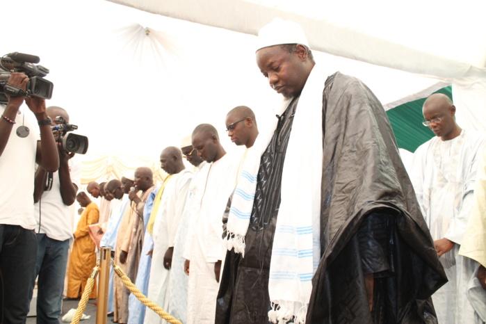 Les images de la prière de la Tabaski à la mosquée Mazalikoul Jinnah