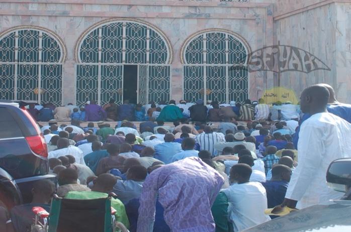 TIVAOUANE TABASKI 2013 - Les Images de la Prière de l'Aïd El Kébir à la Mosquée Serigne Babacar Sy de Tivaouane