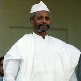 A l'attention du prisonnier  Hissène Habré
