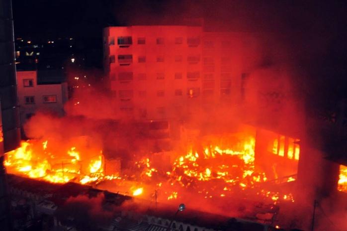 Incendie du marché Sandaga: l'urgence de réguler et de contenir l'urbanisation sauvage de nos villes