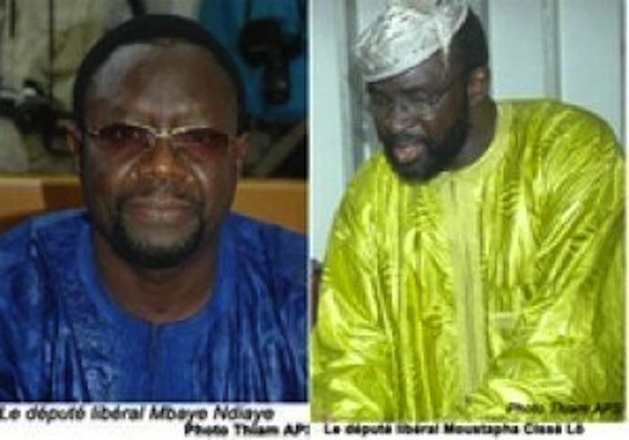 Indemnisation des députés Moustapha Cissé Lô et Mbaye Ndiaye Le Front uni des Sénégalais de la Diaspora digère mal