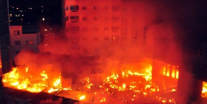 Incendie de Sandaga: La police sur les traces des commerçants pyromanes