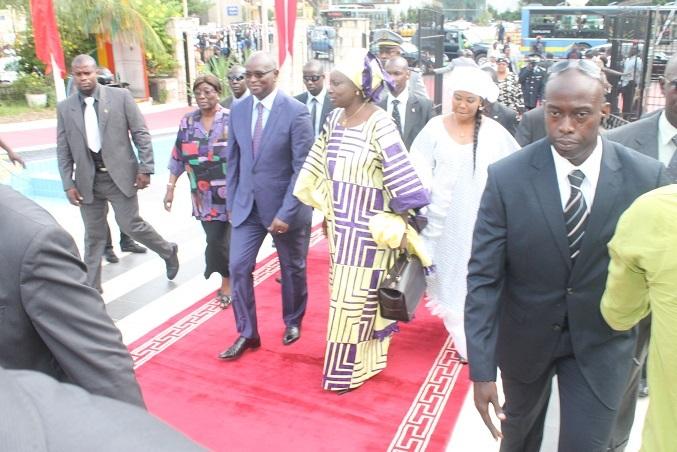 Assemblée nationale: Arrivée de Mimi Touré(IMAGES)