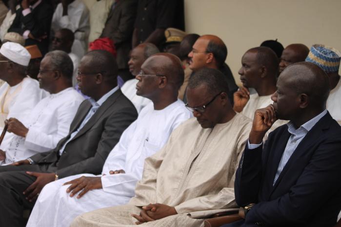 Les images de la levée du corps de l'ancien ministre Hamath Sall à l'hôpital Principal de Dakar