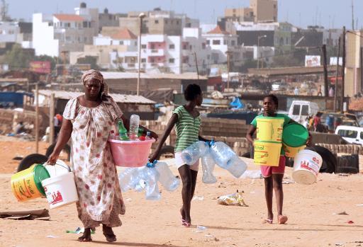 Situation difficile des ménages Sénégalais L'eau revient peu à peu, l'électricité, elle s'en va