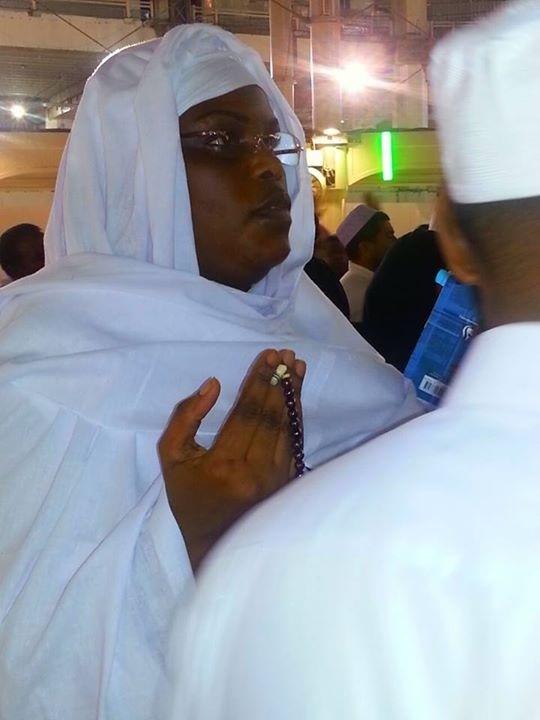 La première dame à la Mecque (Photos)