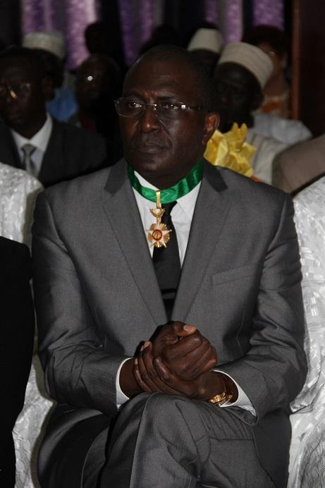 La Chancellerie honore un fils du Sénégal: Babacar Ngom élevé au rang de commandeur de l'ordre national du Lion