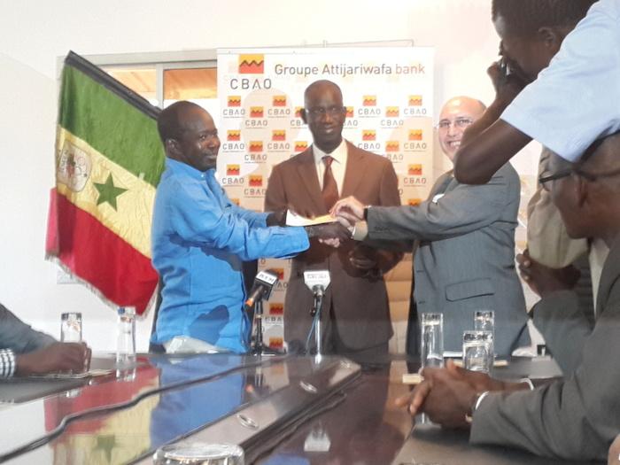 Le CNOSS inaugure son nouveau siège et décroche  30 millions de FCFA  du groupe « Attijariwafa Bank »