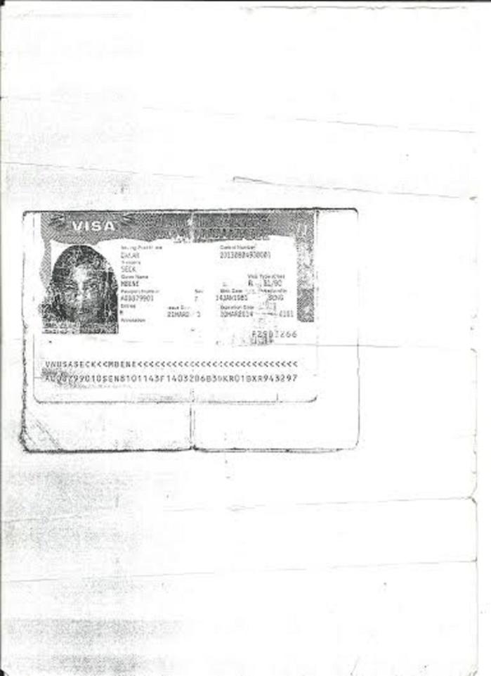 Affaire des trafiquants utilisant le nom de la Première Dame et sa famille Démantèlement du réseau, l'un des cerveaux, Gora Dieng alpagué par la SR