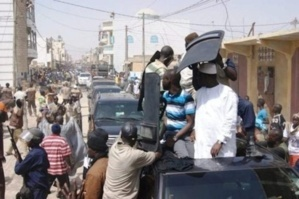 Lancement saison touristique: le véhicule de la garde présidentielle en panne