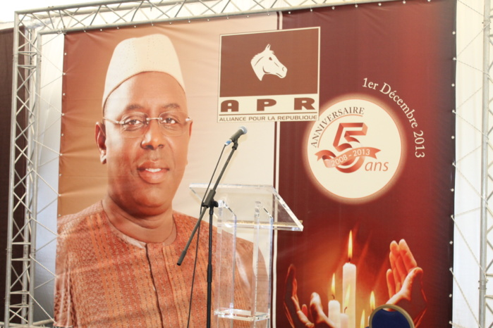Suivez en Direct la cérémonie du 5éme anniversaire de l'APR  (VIDEO)
