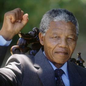 Il demeurera, Nelson Mandela