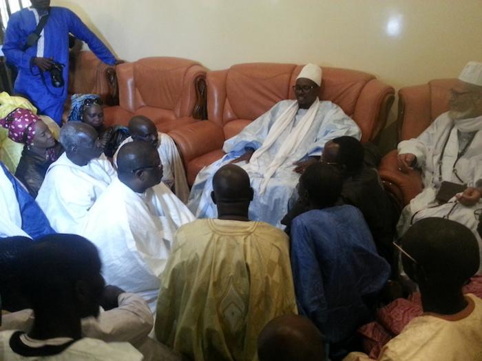 Abdoulaye Baldé reçu par le khalife général des mourides