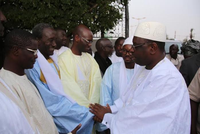 Les images de la visite du président Macky Sall à Touba