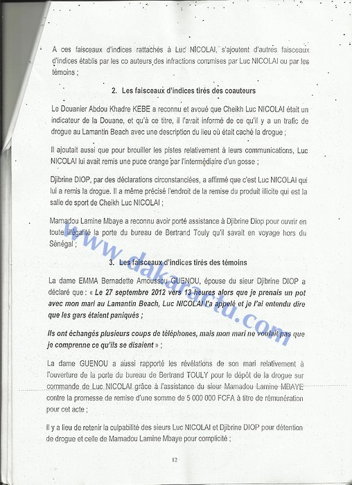 Ce qui n'a jamais été dit sur l'affaire Luc Nicolai et Co (DOCUMENTS)