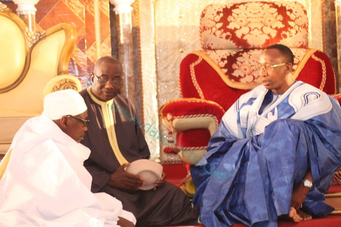 Les images de la  cérémonie officielle du grand Magal de touba 2013