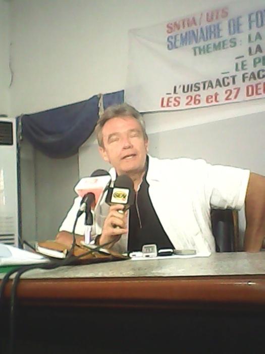 Freddy Huck de la FNAN/CGT à Diourbel « Nous regrettons encore la déclaration néocolonialiste de Sarkozy à Dakar »