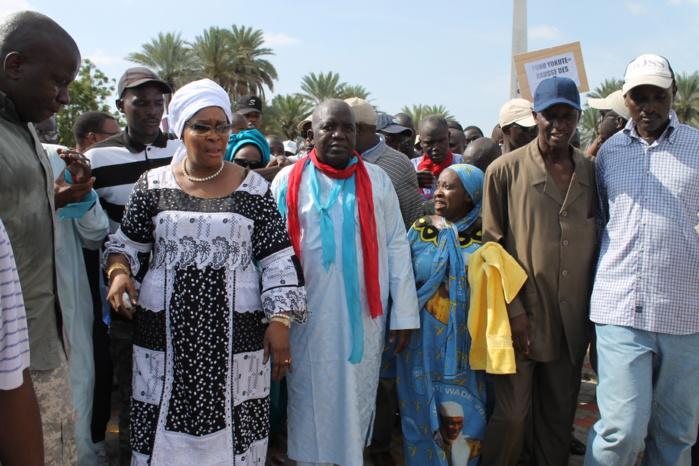 Marche des libéraux à Dagana pour demander la « libération sans conditions des prisonniers politiques »  L'APR Dagana apporte sa réaction