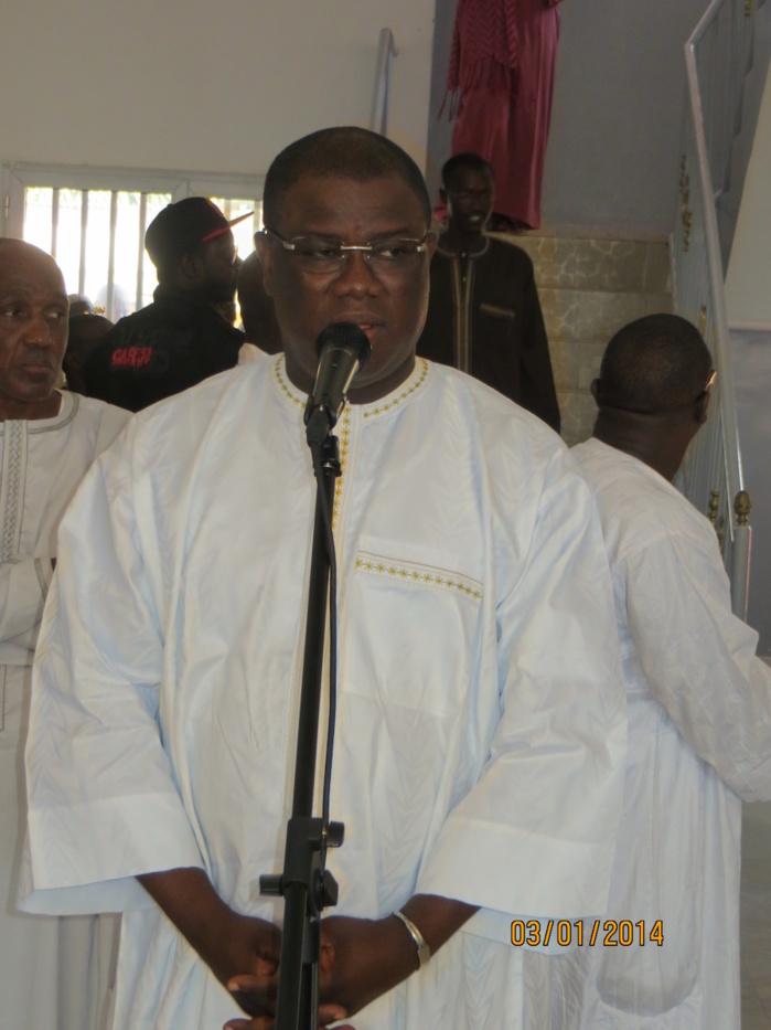 Le Député-maire, Abdoulaye Baldé présente ses vœux de nouvel an à l'ensemble de son équipe et annonce de nouveaux chantiers