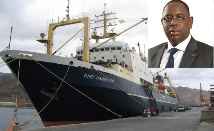 """Macky Sall annule in extremis l'audience avec la délégation Russe, un certain Fouad Nouasser négocie pour... le gouvernement Sénégalais,... Les non-dits de """"l'affaire du bateau Russe"""""""