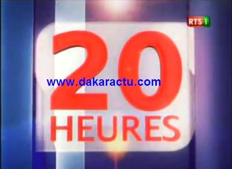 Journal Télévisé du Dimanche 19 janvier 2014  (Édition 20h)