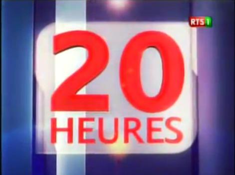 Journal Télévisé du Lundi 27 janvier 2014 (Édition 20h)