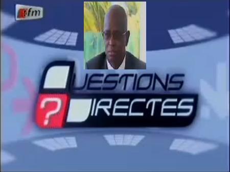 Questions Directes - Ibrahima Téo Lam - 27 janvier 2014