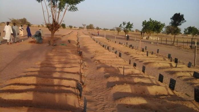Une courte réflexion sur le nouveau cimetière de Touba,  Pour un large partage pour nous rappeler le jour de notre mort...