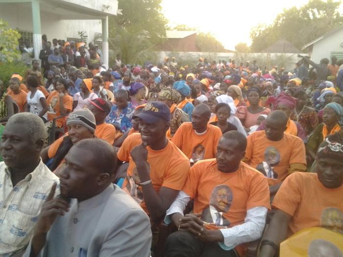Démonstration de force des Rewmistes à Tambacouda (PHOTOS)