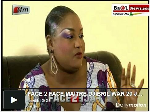 Face 2 Face - reçoit Aziz Samb