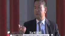Le Point avec  Xia Huang, Ambassadeur de Chine